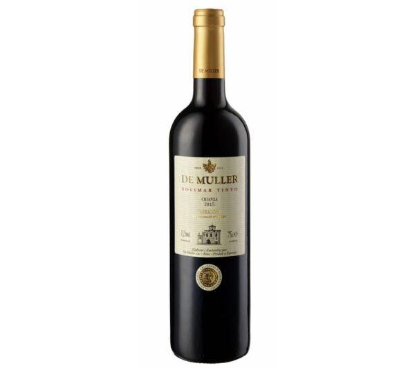 Comprar vino tinto do tarragona Solimar DeMuller