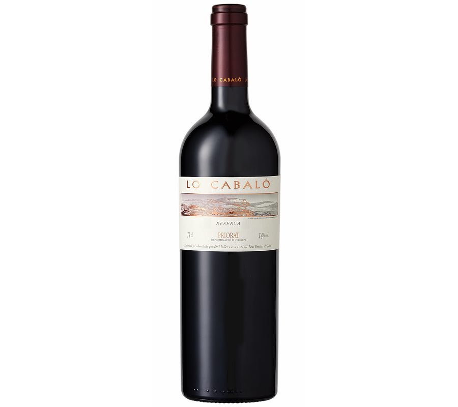 Comprar vino tinto Priorat Lo Cabalo DeMuller