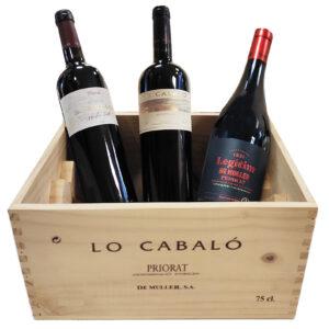 comprar pack vinos demulelr priorat