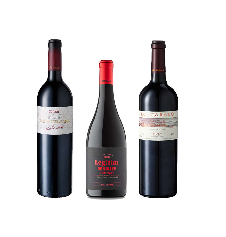 Comprar Vinos DO Priorat DeMuller